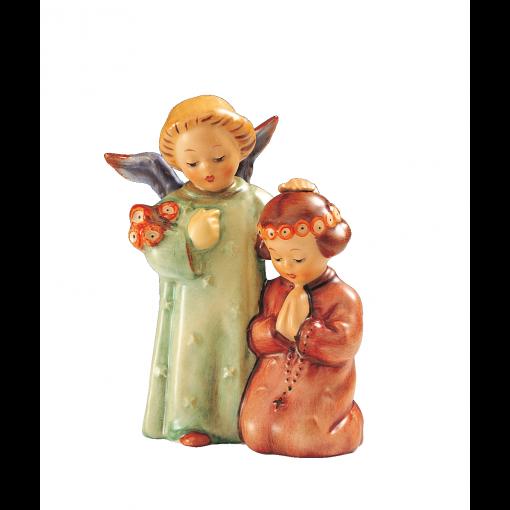 A-Hum-145-Betendes-Kind-mit-Engelein