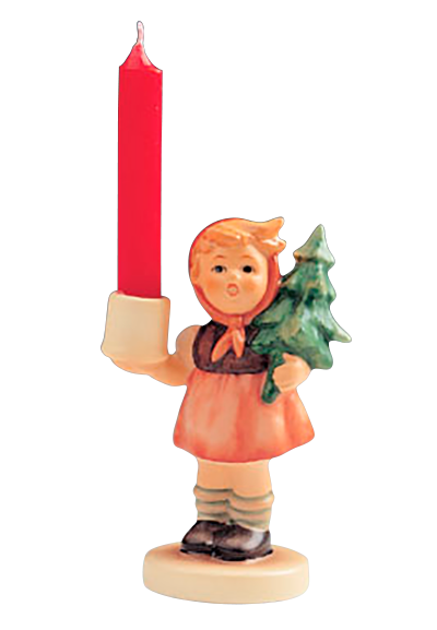 Kerzenhalter mi hummel figuren onlineshop for Tannenbaum kerzenhalter