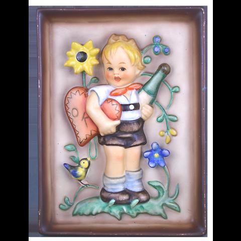 Hum 168 - Wandbild Junge mit Herz