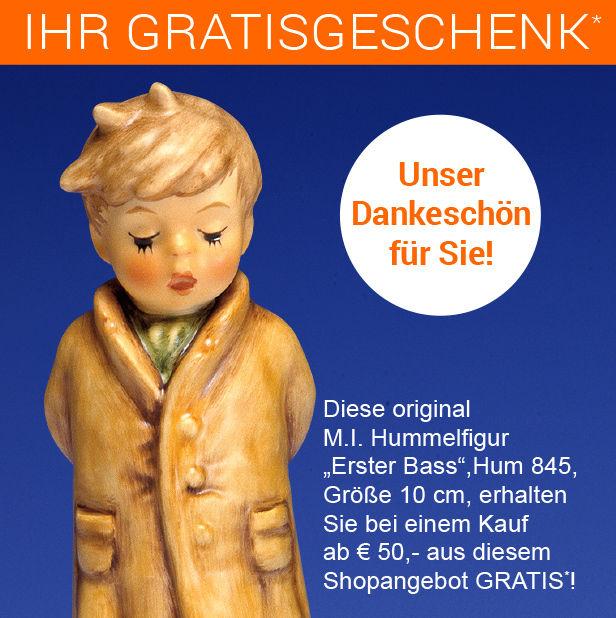 Hummel Figur Gratis-Geschenk